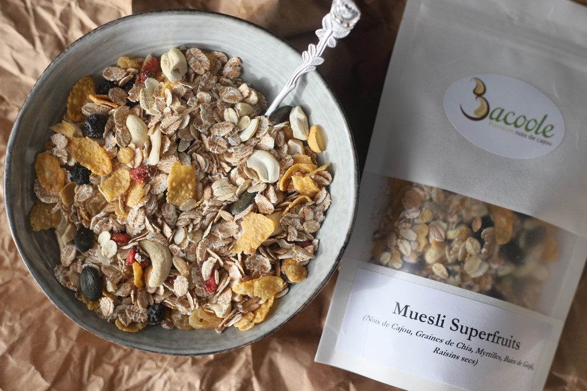 Muesli superfruits Bacoole
